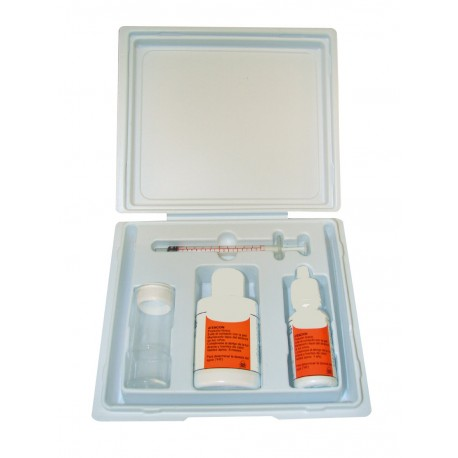 Medidor de dureza / TH-metro (2 reactivos)