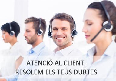 Atenció al Client, Resolem els teus dubtes